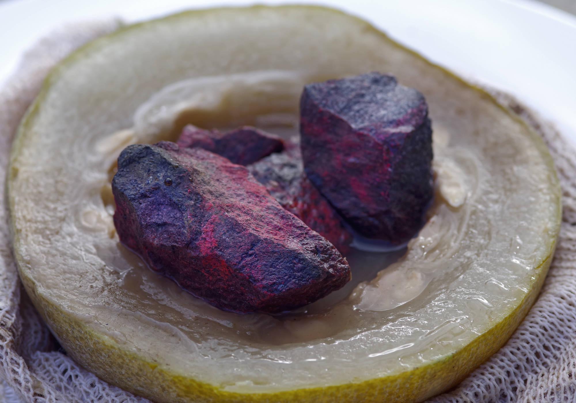 Kushmanda cinnabar boiled