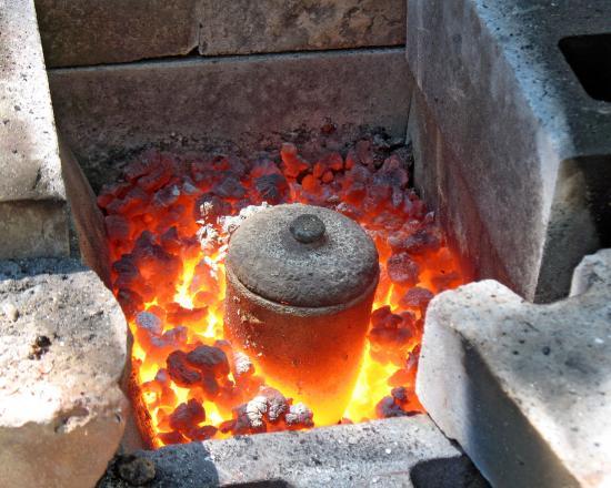Bronze purification, image courtesy of Andrew Mason, neterapublishing.com