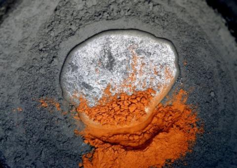 Image of mercury and tournmaline, courtesy of Andrew Mason, neterapublishing.com