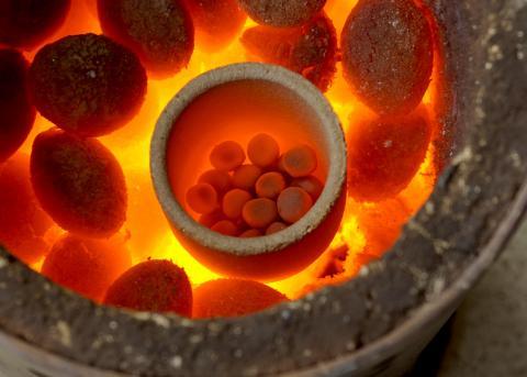 Iron processing, Image by Andrew Mason of neterapublishing.com
