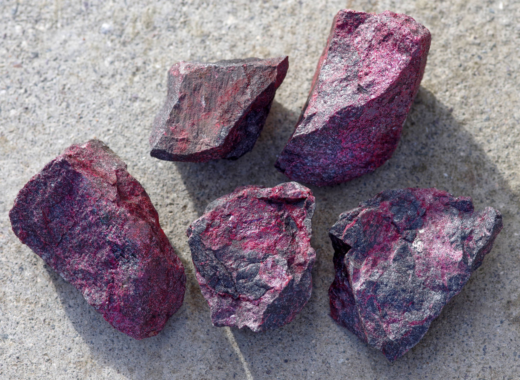 cinnabar pieces untreated